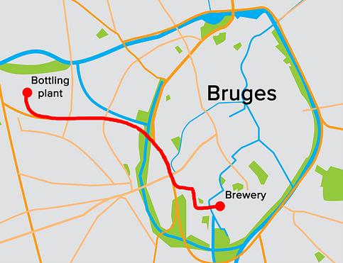 beer pipeline map