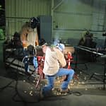 Welding with the Chain Clamp